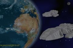 Galactica - Estrellas Belicas