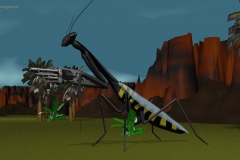 La Saga de los Aznar - Mantis