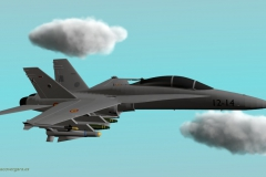 F-18 , Fuerza Aerea Española