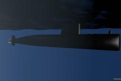 Submarino Tramontana, Armada Española